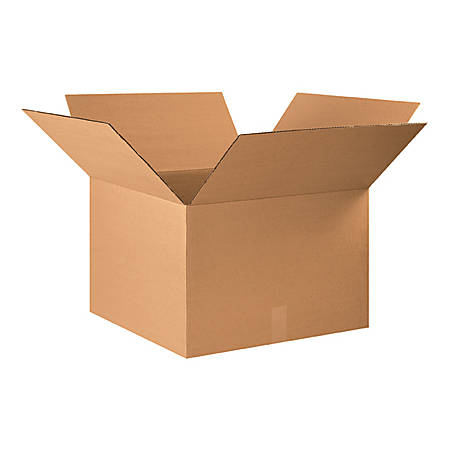 22in(L) x 22in(W) x 14in(D) - Corrugated Shipping Boxes