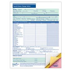 ComplyRight PayrollStatus Change Notices 3 Part