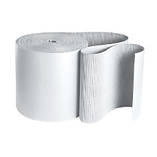 Partners Brand White Singleface Corrugated Roll