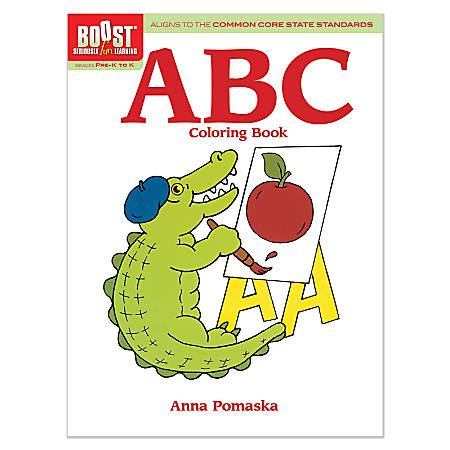 Dover Publications Boost™ Coloring Book, ABC, Grades Pre-K - K