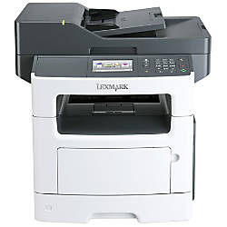 Lexmark MX511DHE Laser Multifunction Printer Monochrome