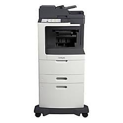 Lexmark MX811DXE Laser Multifunction Printer Monochrome