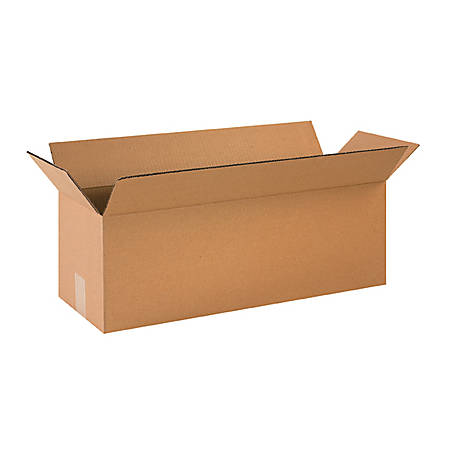 24in(L) x 6in(W) x 8in(D) - Corrugated Shipping Boxes
