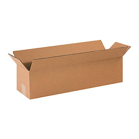 24in(L) x 8in(W) x 6in(D) - Corrugated Shipping Boxes