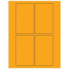 Office Depot Brand Labels LL175OR Rectangle