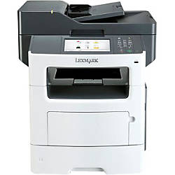 Lexmark MX611DE Laser Multifunction Printer Monochrome