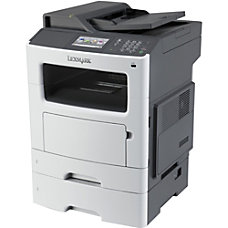 Lexmark MX611dte Multifunction Monochrome Laser Printer