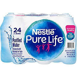 Pure Life Purified Bottled Water 1691