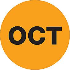 Tape Logic Orange OCT Months of