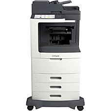 Lexmark MX811dtfe Multifunction Monochrome Laser Printer