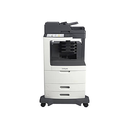 Lexmark MX812dme Multifunction Monochrome Laser Printer