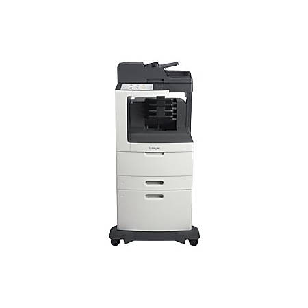 Lexmark™ MX811dxme Wireless Monochrome Laser All-In-One Printer, Scanner, Copier And Fax