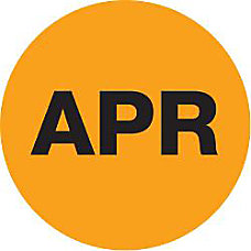 Tape Logic Orange APR Months of