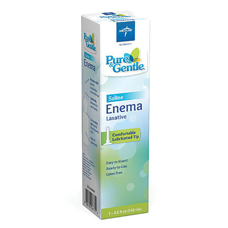 Pure & Gentle Saline Laxative, 4.5-Oz Bottle
