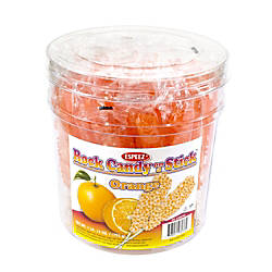 Espeez Rock Candy Sticks 7 Orange