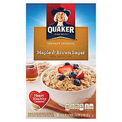 Instant Oatmeal Maple Brown Sugar