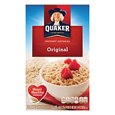 Quaker Instant Oatmeal Original 098 Oz