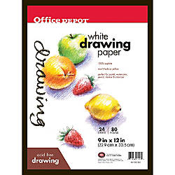 Office Depot Brand Sketch Pad 9