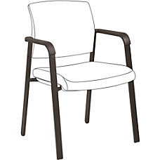 Lorell Guest Chair Frame Black 1