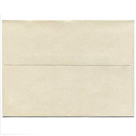 "JAM Paper® Booklet Invitation Envelopes, A9, 5 3/4"" x 8 3/4"", Stardream Metallic Opal, Pack Of 25"