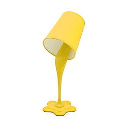 "LumiSource Woopsy Lamp, 15 1/2""H, Yellow"