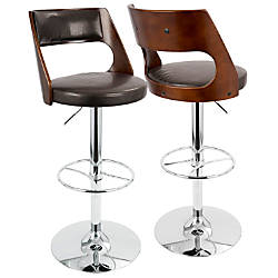 LumiSource Presta Bar Stool 43 H