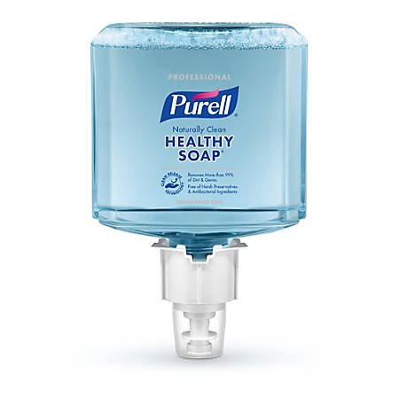 Purell® Professional CRT HEALTHY SOAP™ Naturally Clean Fragrance-Free Foam Hand Soap Refill, ES6, 40.58 Oz