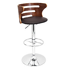 LumiSource Cosi Bar Stool WalnutBrown