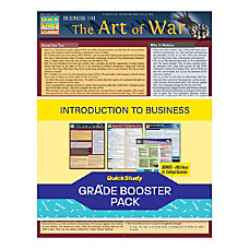QuickStudy Grade Booster Pack Introduction To
