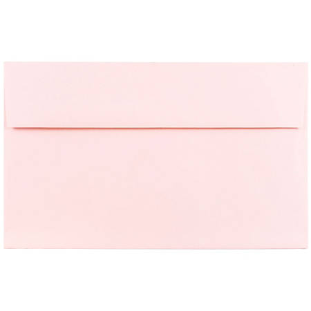jam paper booklet invitation envelopes a10 6 x 9 12 baby pink pack