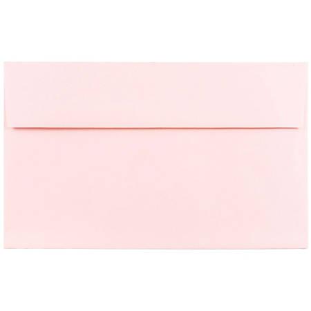 jam paper booklet invitation envelopes a10 6 x 9 12 baby pink pack