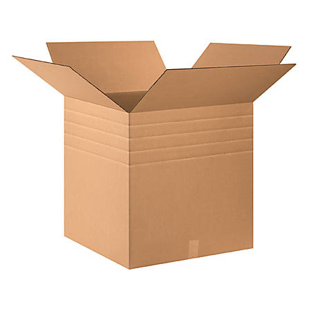 24in(L) x 24in(W) x 24in(D) - Corrugated Multi-Depth Shipping Boxes