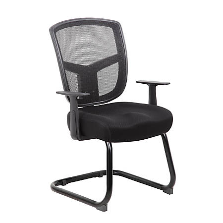 Boss Contract Guest Chair, Black/Black