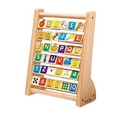 Melissa & Doug ABC - 123 Abacus, Pre-K To Kindergarten