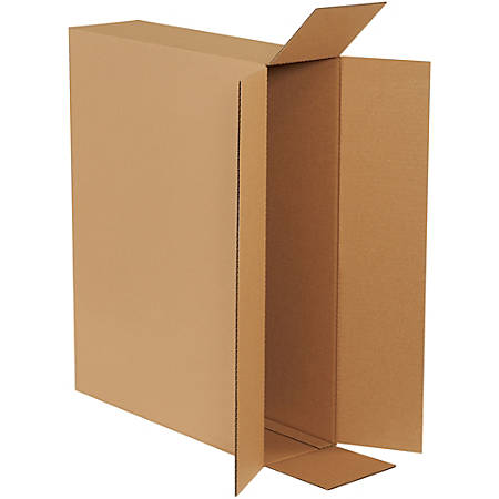 """Office Depot® Brand Side Loading Boxes 26"""" x 6"""" x 20"""", Bundle of 10"""