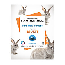 Hammermill Fore Multi Use Paper Letter