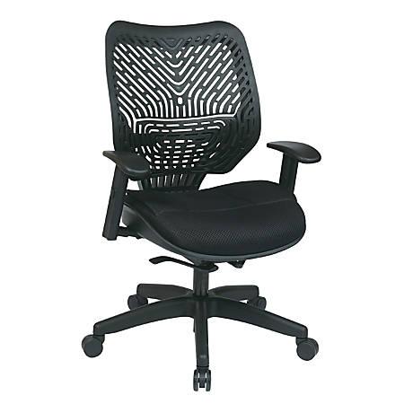 Office Star™ REVV Series SpaceFlex® High-Back Chair, Raven
