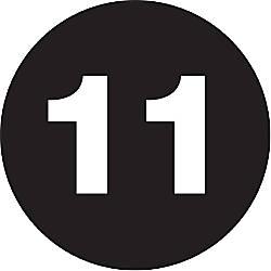 Tape Logic Black 1 Number Labels