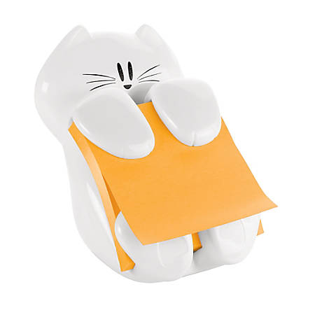 "Post-it® CAT-330 Pop-Up Note Dispenser, 3"" x 3"", White"