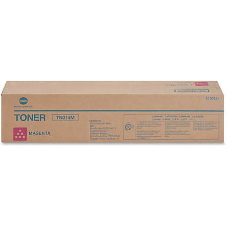 Konica Minolta TN-314M - Magenta - original - toner cartridge - for bizhub C353, C353P; magicolor 8650DN, 8650HDN