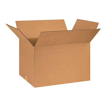26in(L) x 18in(W) x 16in(D) - Corrugated Multi-Depth Shipping Boxes