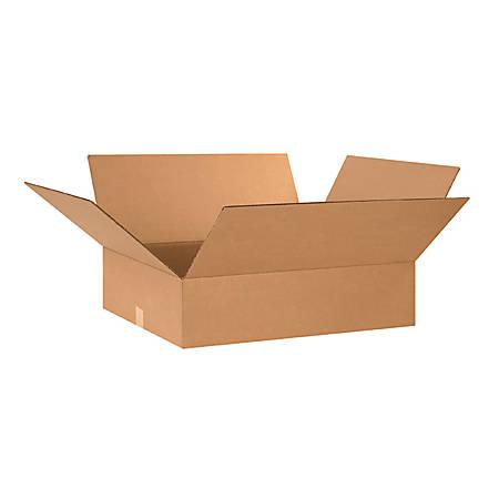 "Office Depot® Brand Flat Corrugated Boxes 26"" x 20"" x 6"", Bundle of 20"