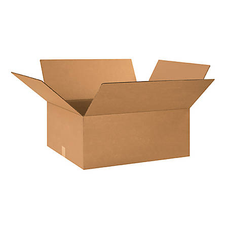 """Office Depot® Brand Corrugated Boxes 26"""" x 20"""" x 10"""", Bundle of 15"""