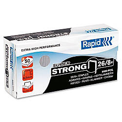 Rapid High Capacity Galvanized Staples 516