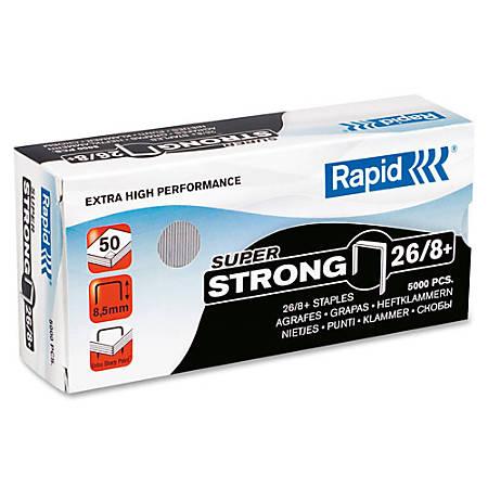 "Rapid® High-Capacity Galvanized Staples, 5/16"", Box Of 5,000"