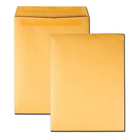 "Quality Park® Redi-Seal® Catalog Envelopes, 10"" x 13"", Brown Kraft, Box Of 250"