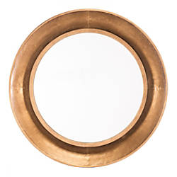 Zuo Modern Ovali Round Mirror Large
