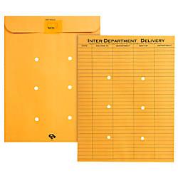 Quality Park Redi Tac Interdepartment Envelopes 10 X 13 1