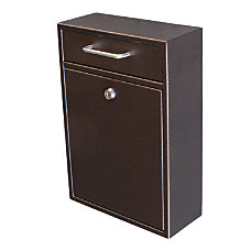 Ordinaire Mail Boss Locking Security Drop Box