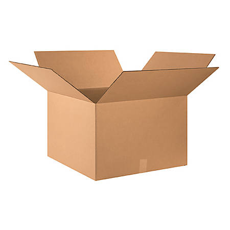 """Office Depot® Brand Corrugated Boxes 26"""" x 26"""" x 16"""", Bundle of 10"""